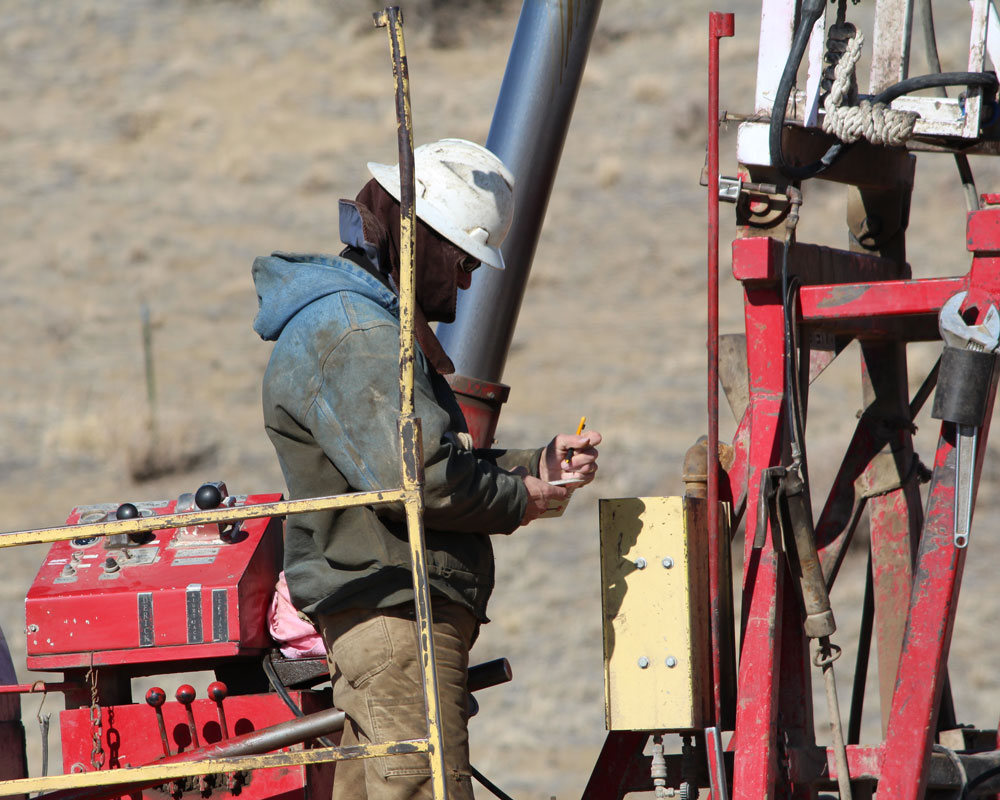Wellsite Supervision at a Wyoming Oil Well